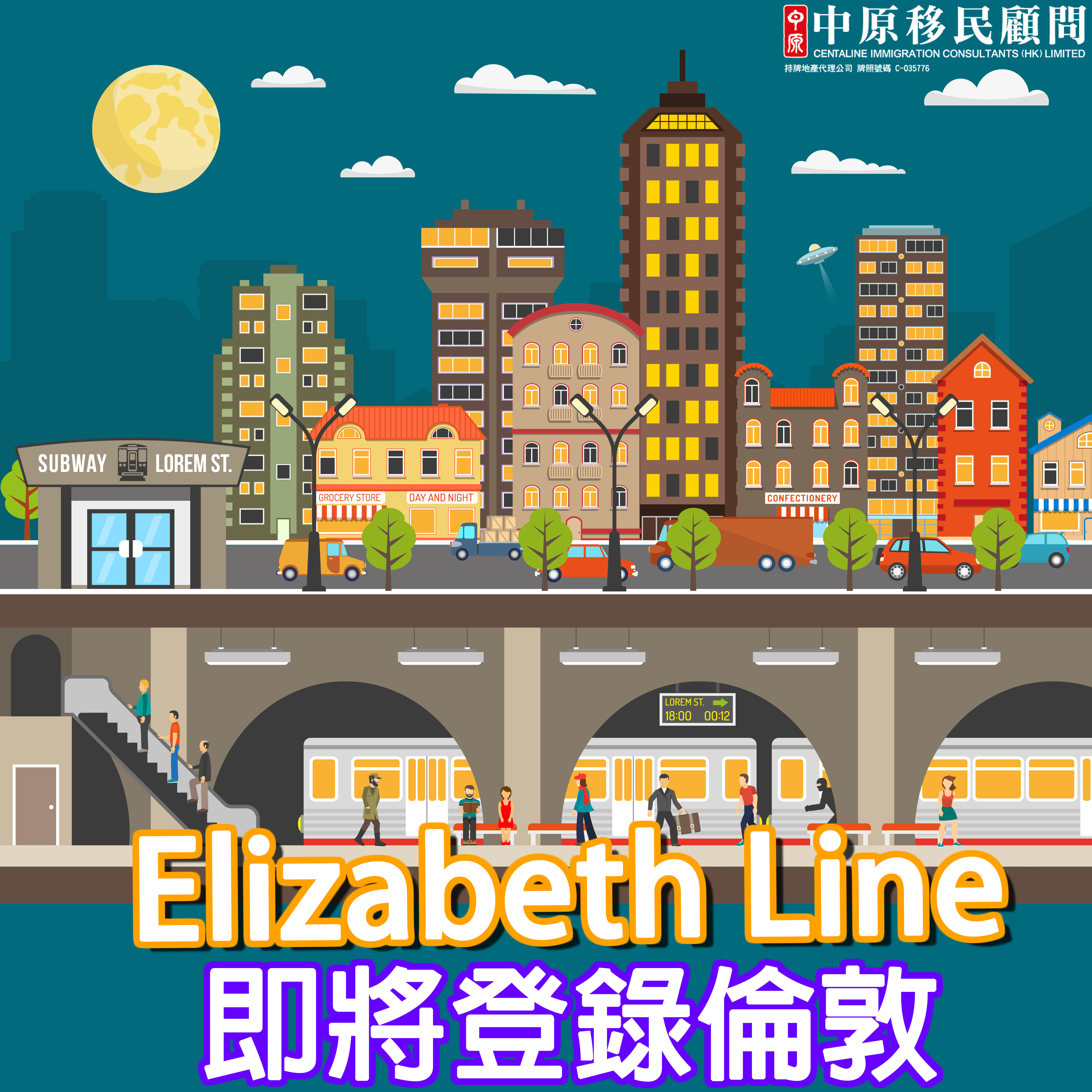 英國倫敦Elizabeth Line即將通車